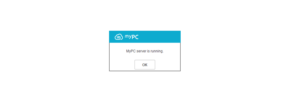 You can use your PC as your cloud server with the pop-up saying 'successfully connected to the server' on your screen.